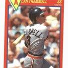 1989 Score Superstar Alan Trammell Detroit Tigers Baseball Card