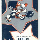 1977 Detroit Tigers Media Guide Trammell Whitaker ROOKIE
