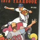 1973 Detroit Tigers Yearbook