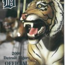 2000 Detroit Tigers Scorecard