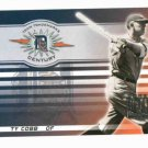 2003 Donruss Signature Series Ty Cobb Detroit Tigers Baseball Card #D to / 100