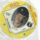 1985 Cains Chips Dave Bergman Detroit Tigers Baseball Disc Card 1984 World Champions UNOPENED