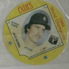 1985 Cains Chips Jack Morris Detroit Tigers Baseball Disc Card 1984 World Champions Unopened
