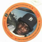 1987 Cains Chips Darnell Coles Detroit Tigers Baseball Disc Card Unopened