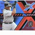 2008 Upper Deck X Ponential Miguel Cabrera Detroit Tigers Baseball Card