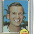 1968 Topps Dennis Ribant Detroit Tigers Baseball Card # 326