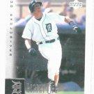 2001 Upper Deck Exclusives Robert Fick Detroit Tigers Baseball Card #D /100