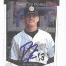 1997 Upper Deck SP Robert Fick Detroit Tigers Autograph Baseball Card Auto