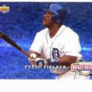 1994 Upper Deck Mickey Mantle Long Shots Cecil Fielder Detroit Tigers Baseball Card