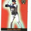 2000 Pacific Vanguard Red Dean Palmer Detroit Tigers Baseball Card