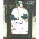 2008 Playoff Prime Cuts Kirk Gibson Detroit Tigers Baseball Card #D / 249
