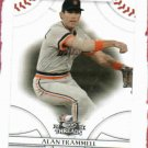 2008 Donruss Threads Alan Trammell Detroit Tigers Baseball Card