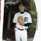 2005 Donruss Team Heroes Justin Verlander Detroit Tigers Baseball Card Rookie