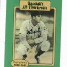 Baseballs All Time Greats Hank Greenberg Baseball Card Detroit Tigers