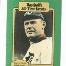 Baseballs All Time Greats Sam Crawford Detroit Tigers Baseball Card Oddball