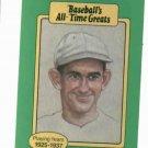 Baseballs All Time Greats Mickey Cochrane Detroit Tigers Baseball Card Oddball