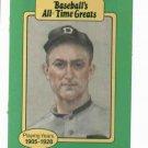 Baseballs All Time Greats Ty Cobb Detroit Tigers Baseball Card Oddball