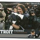 2006 Detroit Free Press AL Champions Baseball Card Tigers Oddball