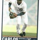 2006 Detroit Free Press Carlos Guillen Baseball Card Tigers Oddball