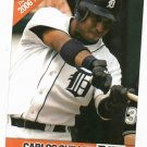 2006 Detroit News Carlos Guillen Baseball Card Tigers Oddball