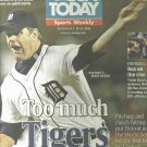October 2006 USA Today Sports Weekly Kenny Rogers Cover Detroit Tigers
