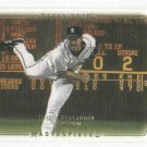 2008 Upper Deck Masterpieces Justin Verlander Detroit Tigers Baseball Card