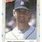 1988 Fleer Star Stickers Mike Henneman Detroit Tigers Oddball