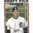 2005 Topps Draft Pick Justin Verlander Detroit Tigers Rookie Astros