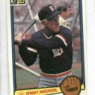 1983 Donruss Sparky Anderson Detroit Tigers Reds