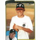 2010 Topps When They Were Youg Justin Verlander Detroit Tigers