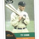 2010 Topps Heritage News Flashbacks Ty Cobb Detroit Tigers