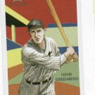 2010 Topps National Chicle Diamond Stars Hank Greenberg Detroit Tigers