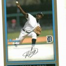 2009 Bowman Gold Alfredo Figaro Detroit Tigers Rookie