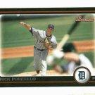 2010 Bowman Rick Porcello Detroit Tigers