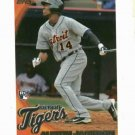 2010 Topps Austin Jackson Detroit Tigers Rookie