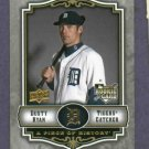 2009 Upper Deck Piece Of History Dusty Ryan Detroit Tigers Rookie