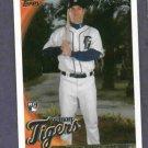 2010 Topps Scott Sizemore Detroit Tigers Rookie