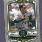 2009 Upper Deck A Piece Of History Miguel Cabrera Detroit Tigers