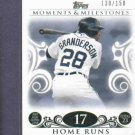 2008 Topps Moments & Milestones Curtis Granderson / 150 Detroit Tigers