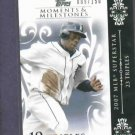 2008 Topps Moments & Milestones Curtis Granderson /150 Detroit Tigers