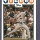 2008 Topps Justin Verlander Detroit Tigers