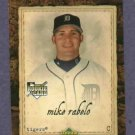 2007 Upper Deck MLB Artifacts Mike Rabelo Detroit Tigers Rookie