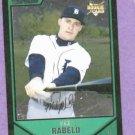 2007 Bowman Draft Picks Chrome Mike Rabelo Detroit Tigers Rookie