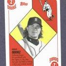2008 Topps Trading Card History Magglio Ordonez Detroit Tigers Oddball