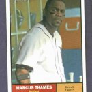 2010 Topps Heritage Marcus Thames Detroit Tigers New York Yankees