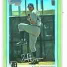 2010 Bowman Chrome Gold Refractor Luke Putkonen Detroit Tigers ROOKIE #d / 50