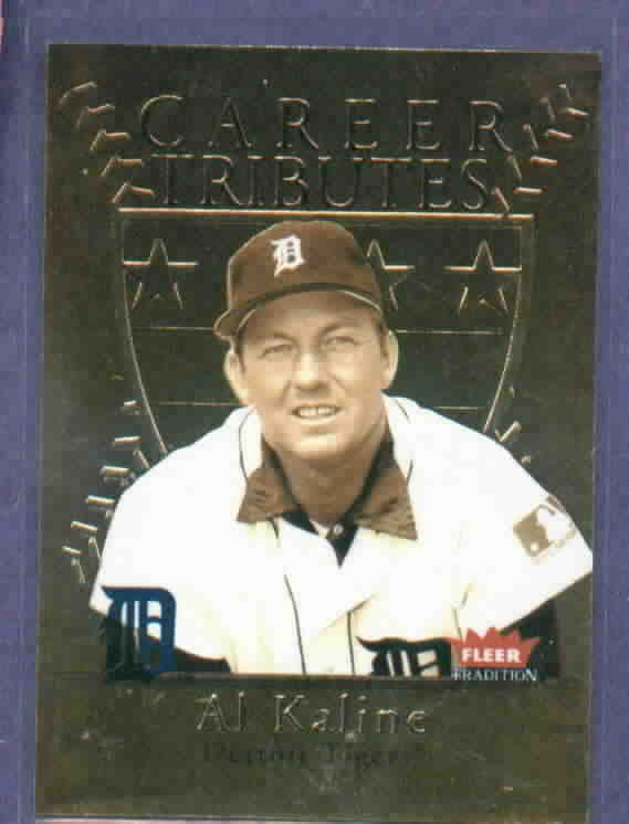 2004 Fleer Tradition Career Tributes Al Kaline Detroit Tigers #D/ 1974