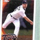 2010 Topps Chrome Justin Verlander Detroit Tigers