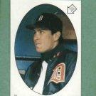 1986 Topps Sticker Alan Trammell Detroit Tigers
