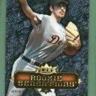 2007 Fleer Rookie Sensations Justin Verlander Detroit Tigers